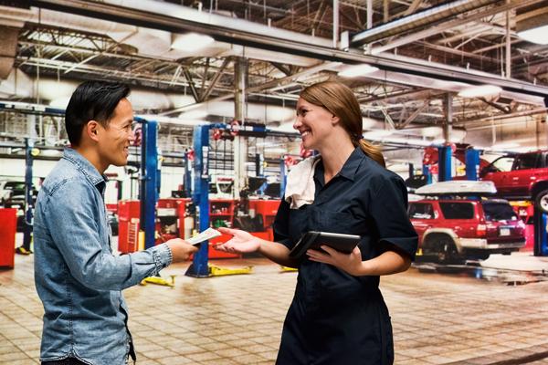 Occasions d'affaires pour centres de services et garages