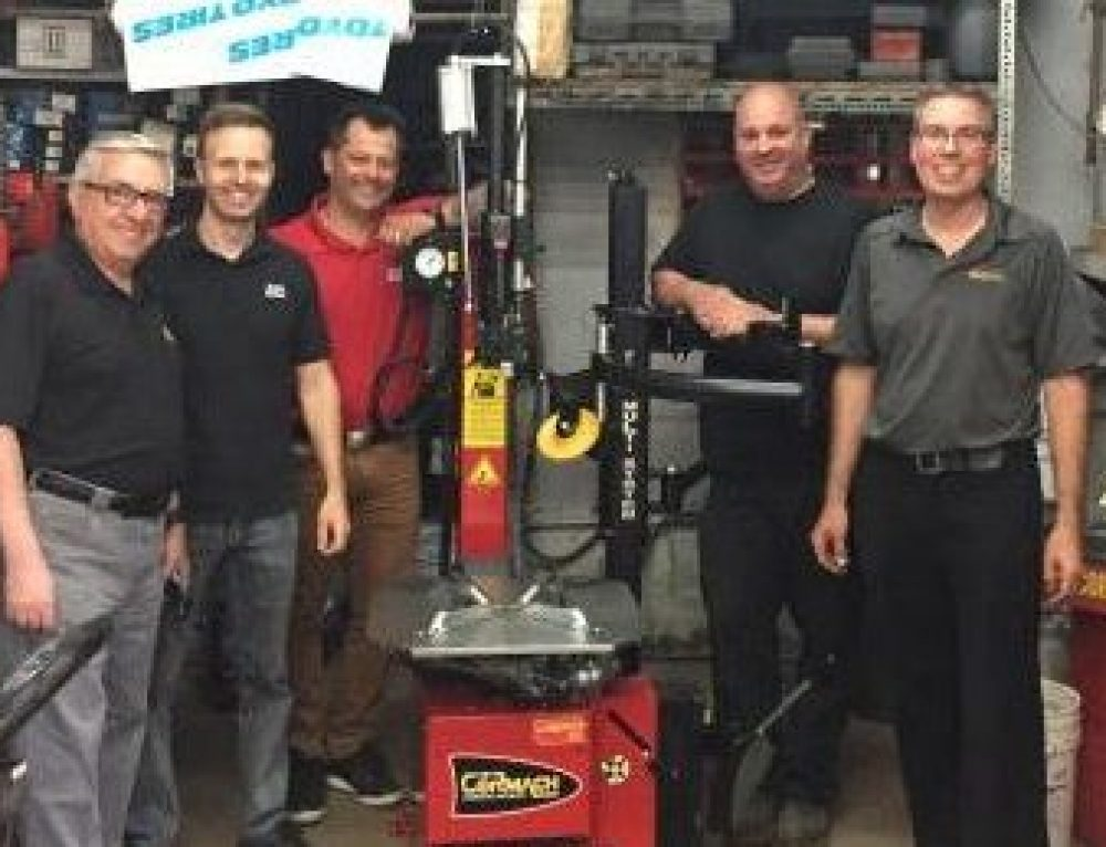 WIN A WHEEL BALANCER AND TIRE CHANGER CONTEST: WINNER ANNOUNCEMENT